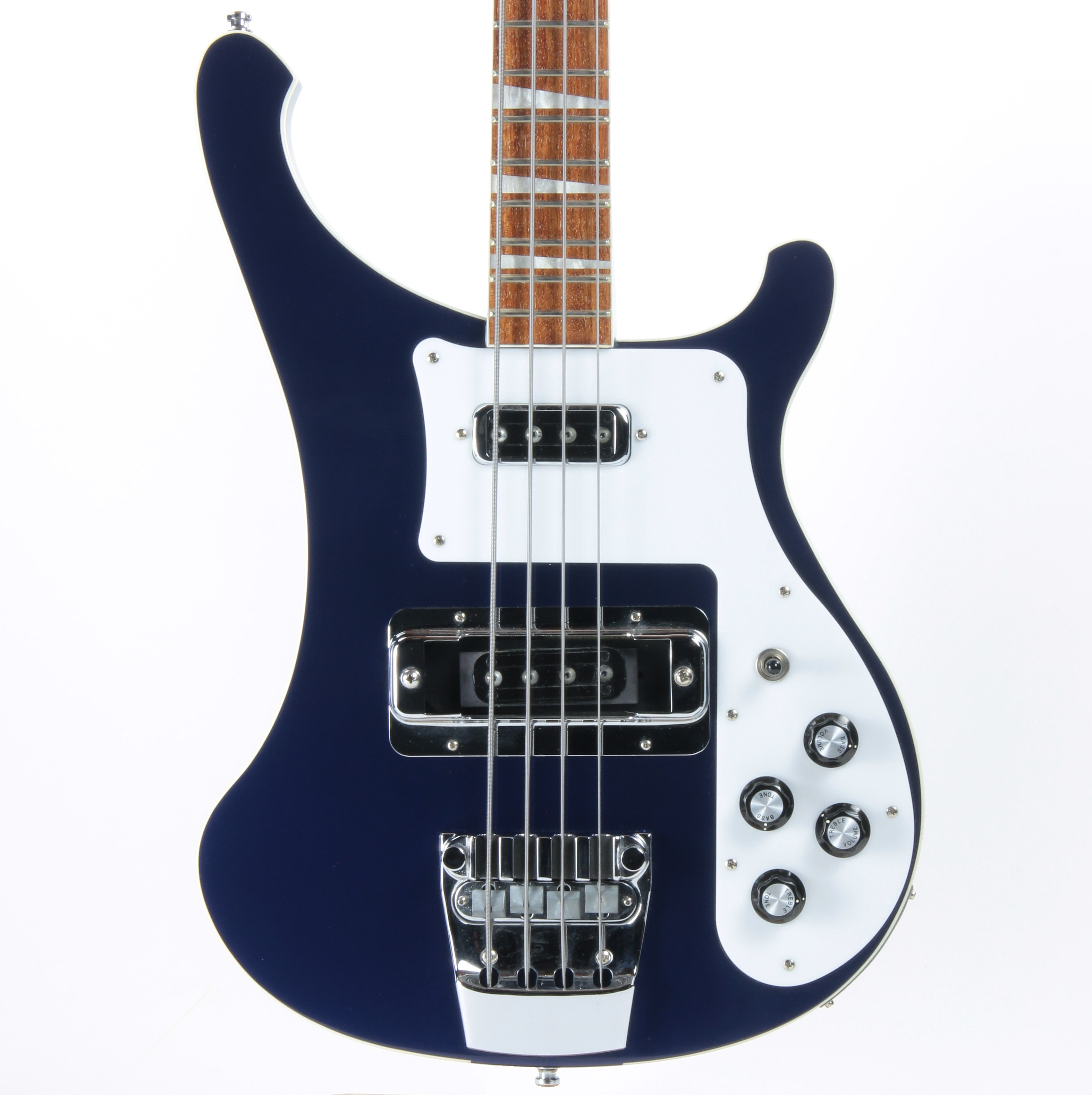 2011 Rickenbacker 4003 Midnight Blue MID - Triangle Inlays, Discontinued Color, w/ Original Case