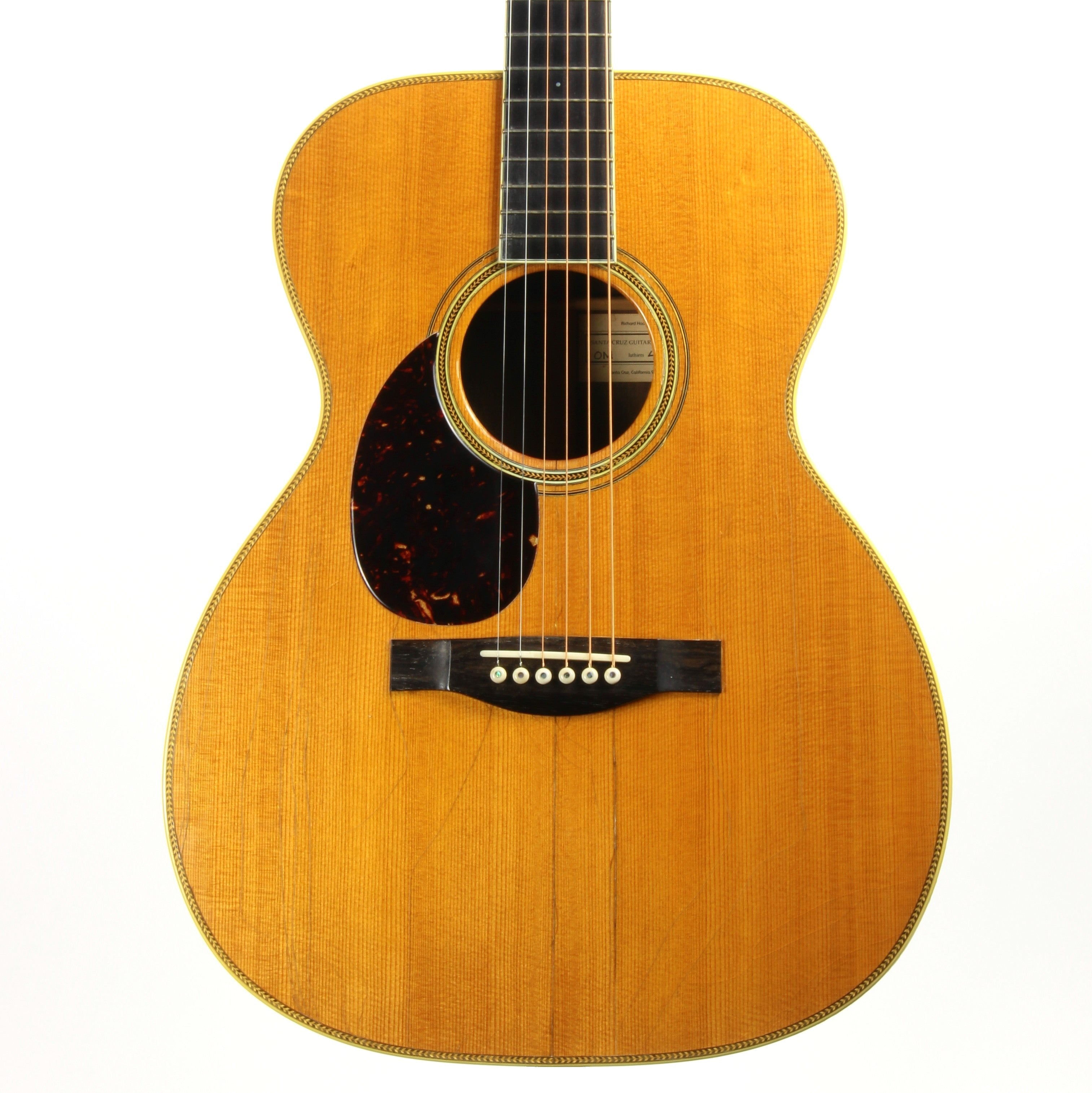 1994 Santa Cruz OM Orchestra Model Left-Handed Acoustic - Player-Grade Lefty