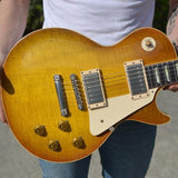 1958 Gibson Les Paul BRAZILIAN ROSEWOOD Reissue HISTORIC MAKEOVERS RDS Aged 1959 HM