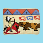 Legend of the Living Room Ledger Kid's Blanket