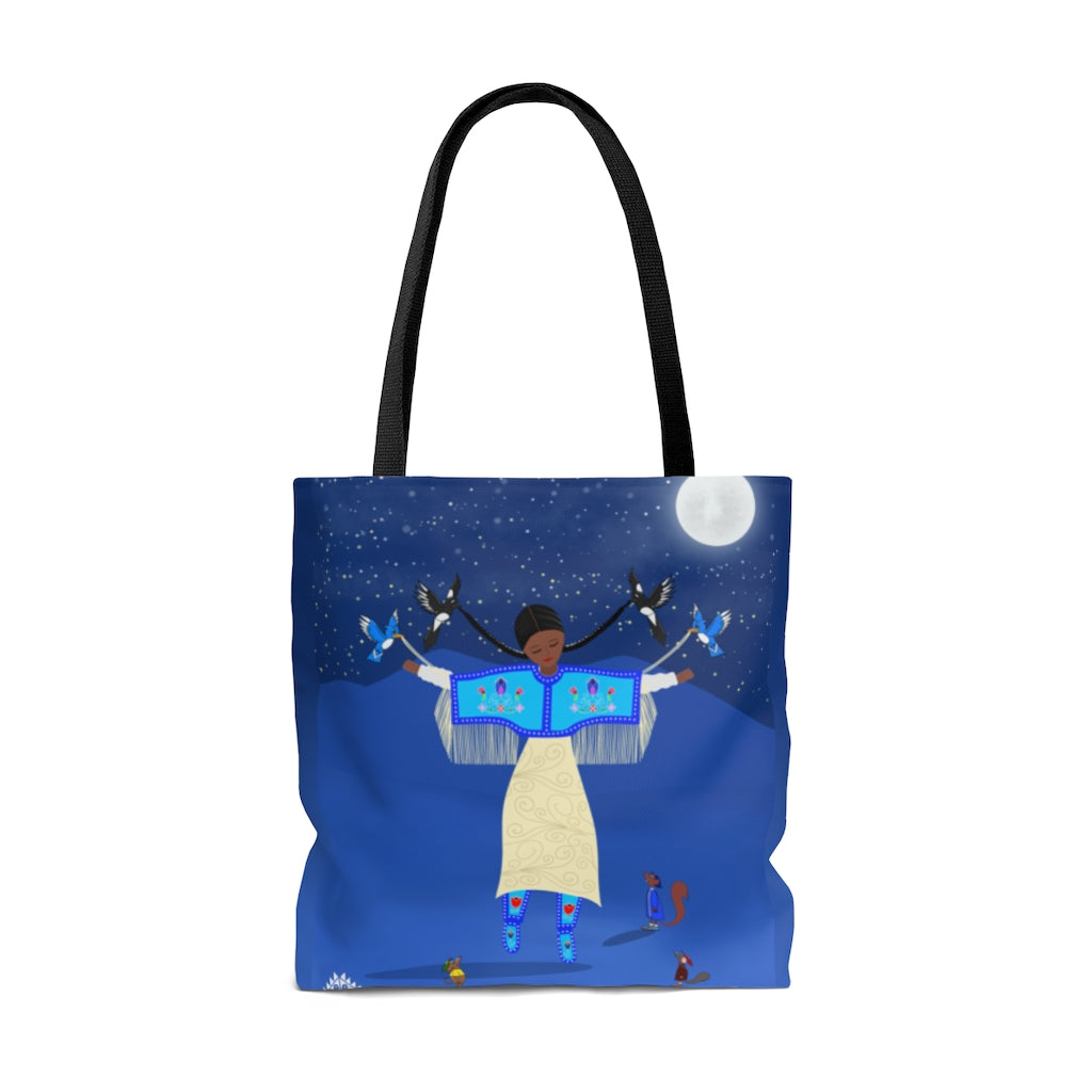 Native Cinderella Tote Bag