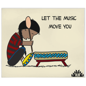 Let the Music Move You Blankets