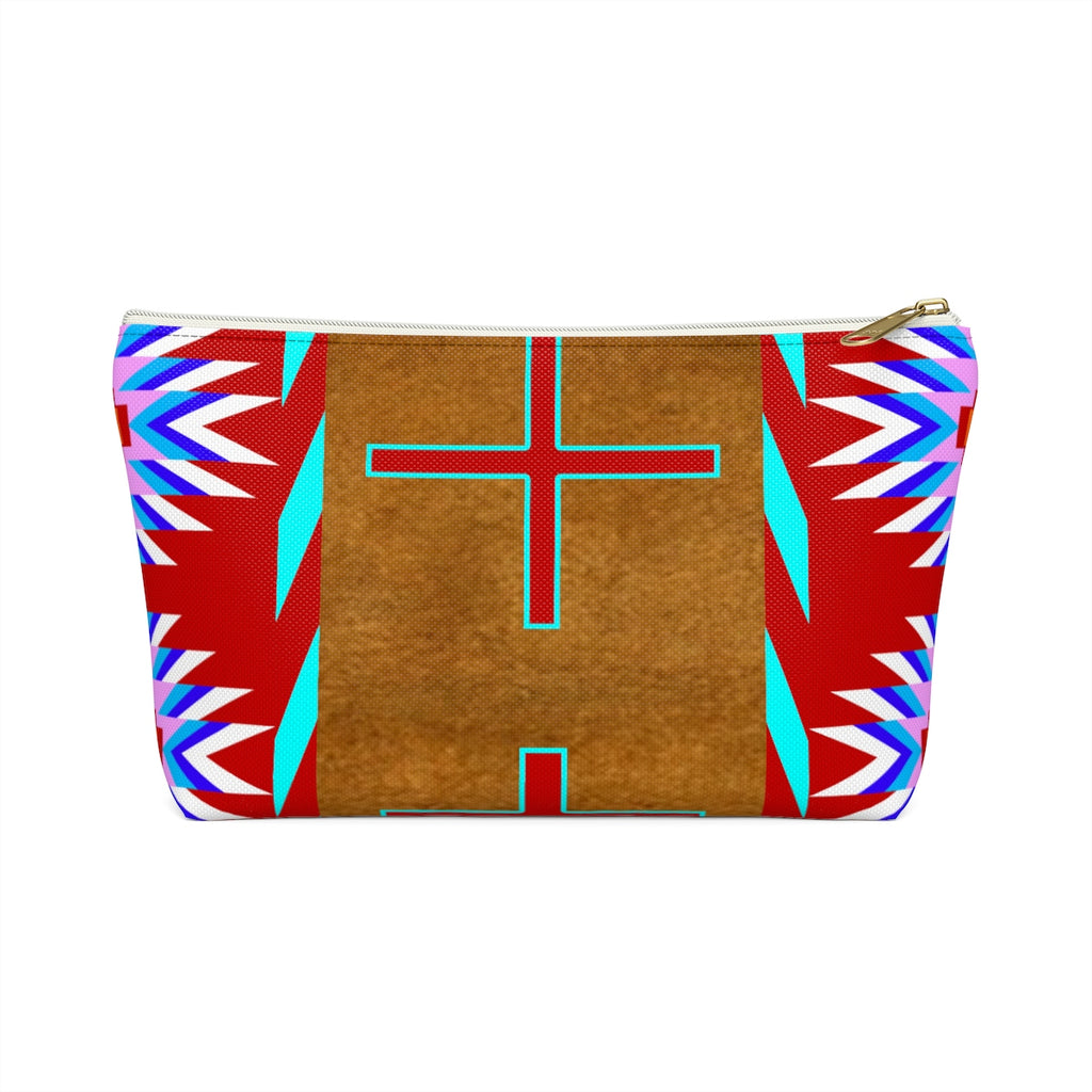 Red Buckskin Accessory Bag