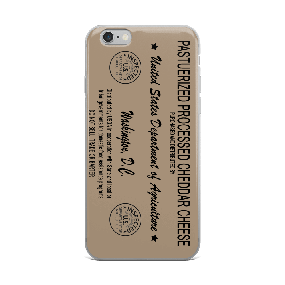 Commod Cheese iPhone Case