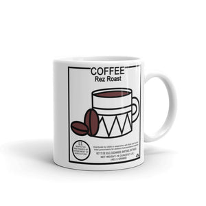Commod Coffee Label Mugs