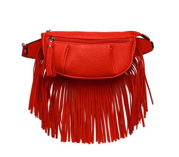 Red Fringe Fanny