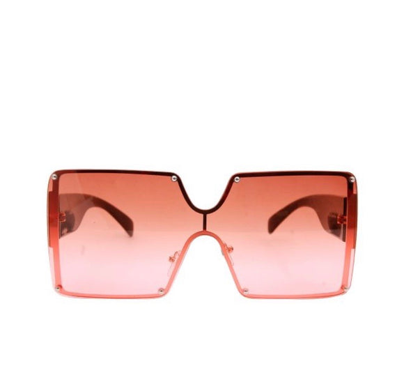 Square Shield Shades