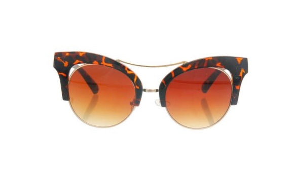 Brown Cat Eye Sunnies