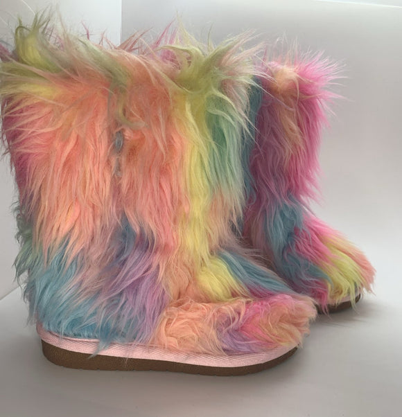 Chloe' Unicorn Booties