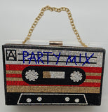 """Party Mix"" bling purse"