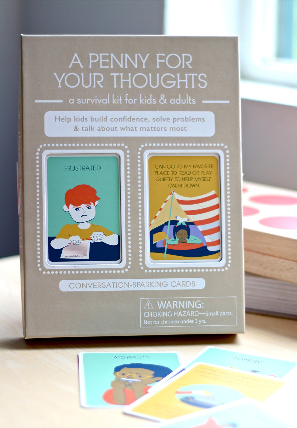 Kids conversation cards for feelings and social emotional learning
