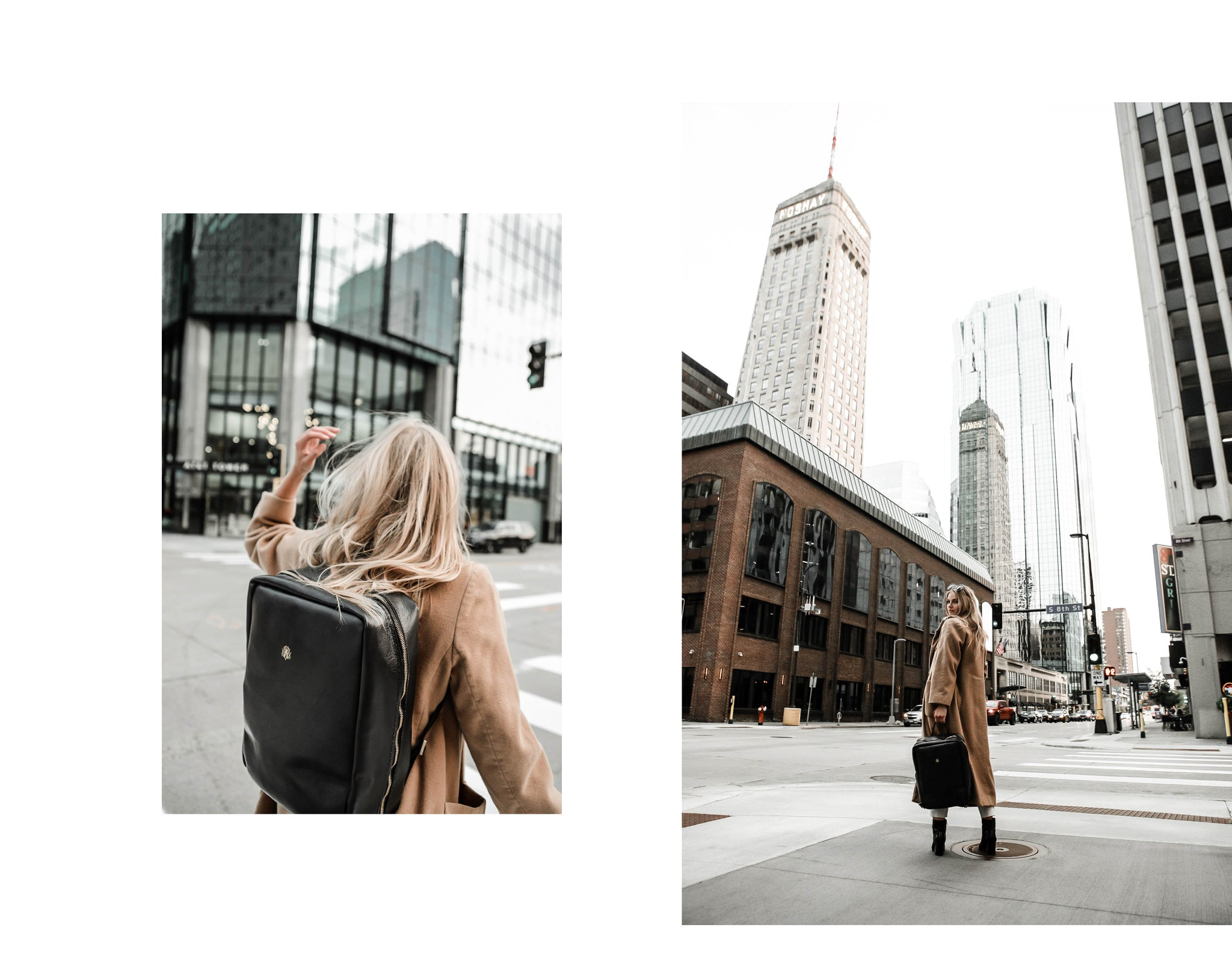 MONTGOMERY COLLECTION NO.612.11 BACKPACK X MINNEAPOLIS MN