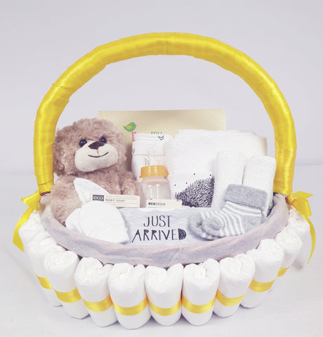 'Baby Bundle' Classic Gift Hamper Yellow