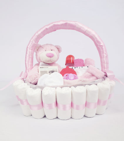 'Hello Baby' Classic Gift Hamper Pink