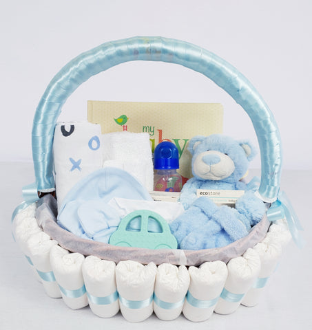 'Baby Bundle' Classic Gift Hamper Blue