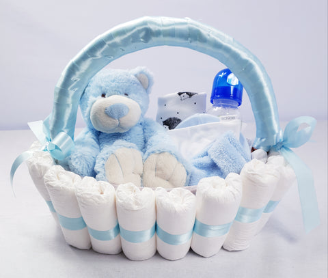 'Welcome Baby' Classic Gift Hamper Blue