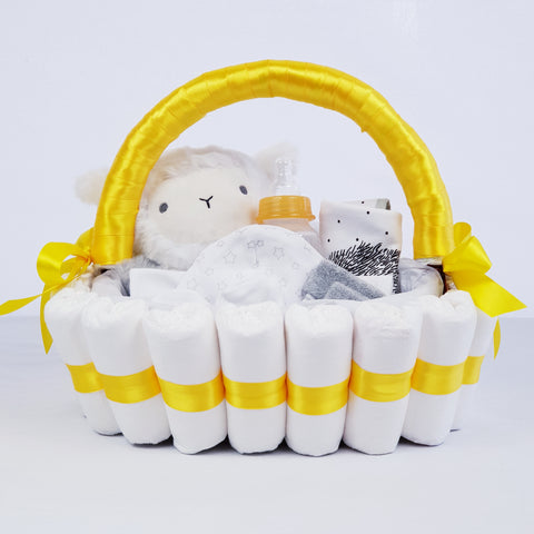 'Welcome Baby' Classic Gift Hamper Yellow