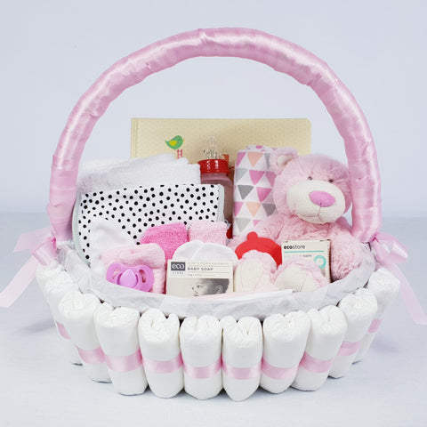 'Baby Bundle' Classic Gift Hamper Pink