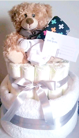 Newborn Nappy cake