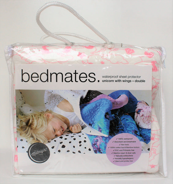 Unicorn Bed Mate- Waterproof Sheet Protector