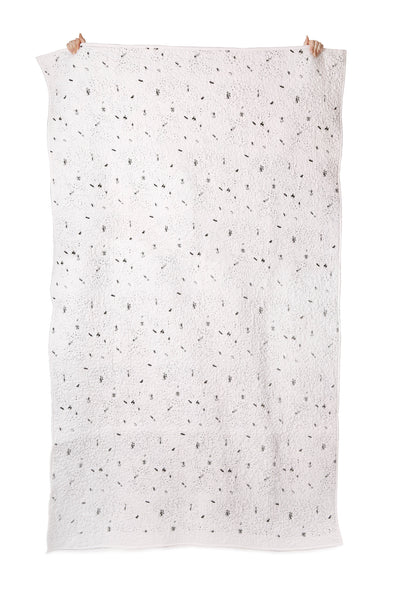 Celestial City Organic Cotton Quilted Blanket