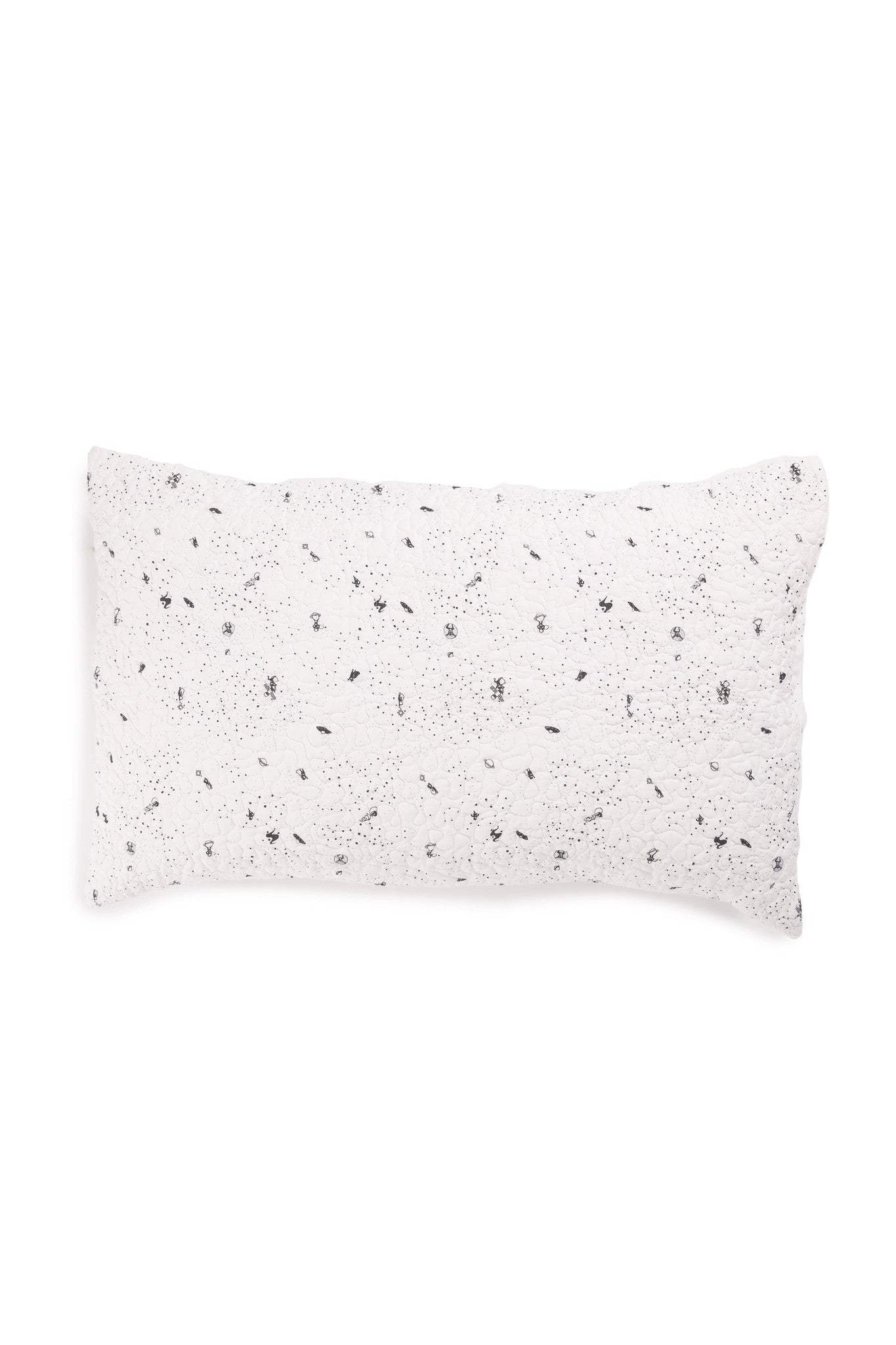 Spaceman Organic Cotton Quilted Pillow Case