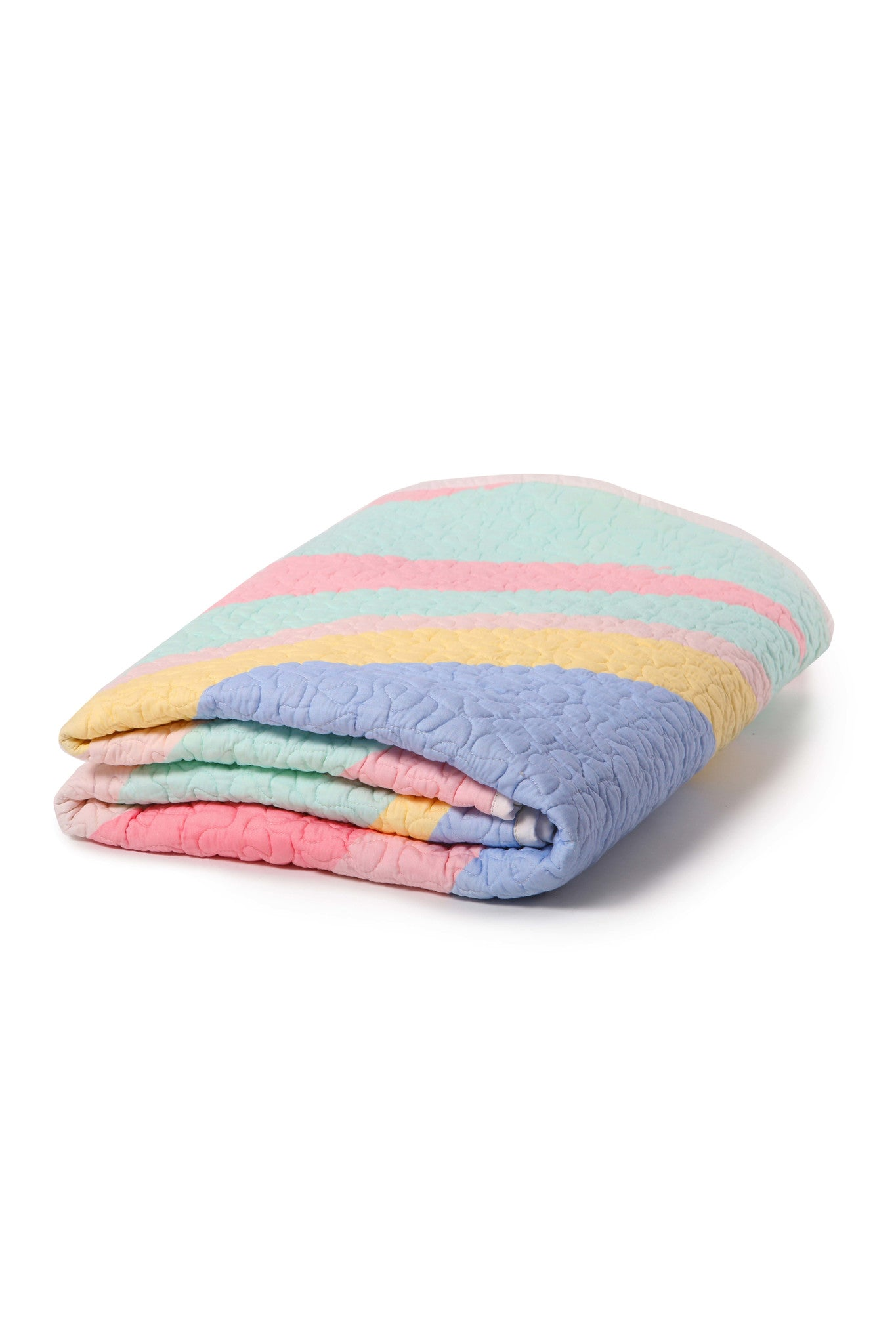 Unicorn Utopia Organic Cotton Quilted Blanket