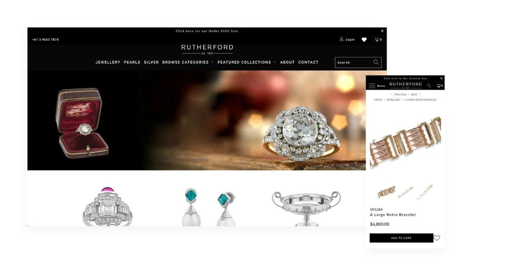 Jewelry shopify store