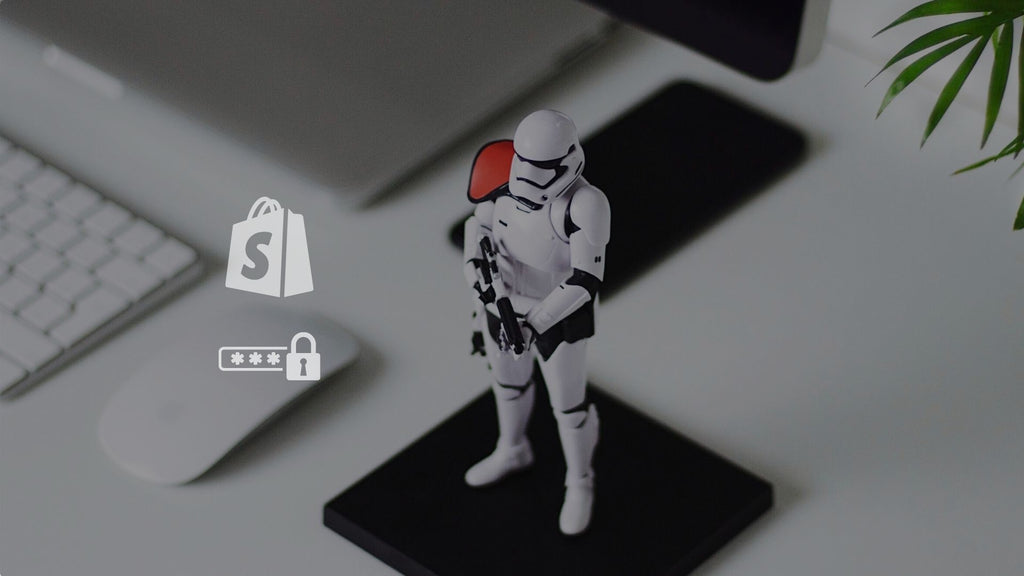 Starwars toy - Shopify store security