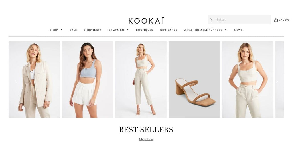 Kookai Shopify Plus store