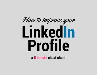Use The Hope Factory's 'How To Improve Your LinkedIn Profile' to quickly enhance your LinkedIn profile. This will ensure that you are seen in the best light possible when people search for you online. Just enter your email address and click the button that says FREE DOWNLOAD for INSTANT ACCESS.
