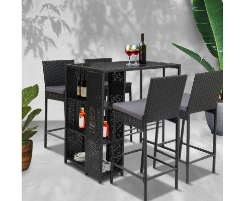 Bar Set  - 5 Piece
