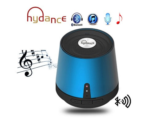 MAXI SOUND MP3 Player with Mini Bluetooth Speaker - BLUE