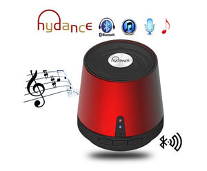 MAXI SOUND MP3 Player with Mini Bluetooth Speaker - RED