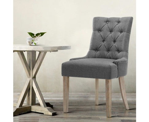 Dining Chairs - French Provincial x 2