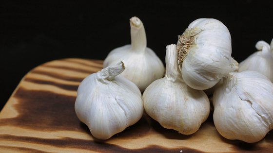 Garlic helps improve circulation