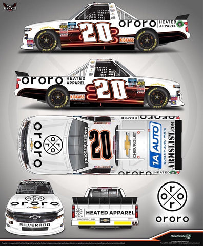 NASCAR Partnership Boyd and ORORO