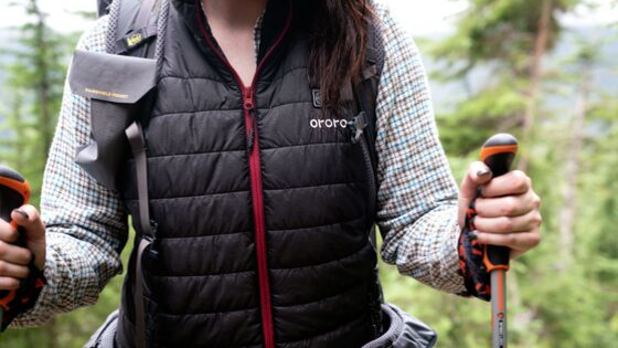 Women's heated vest