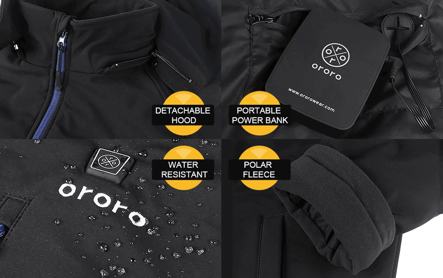 HEATED APPAREL FOR EVERY ENVIRONMENT