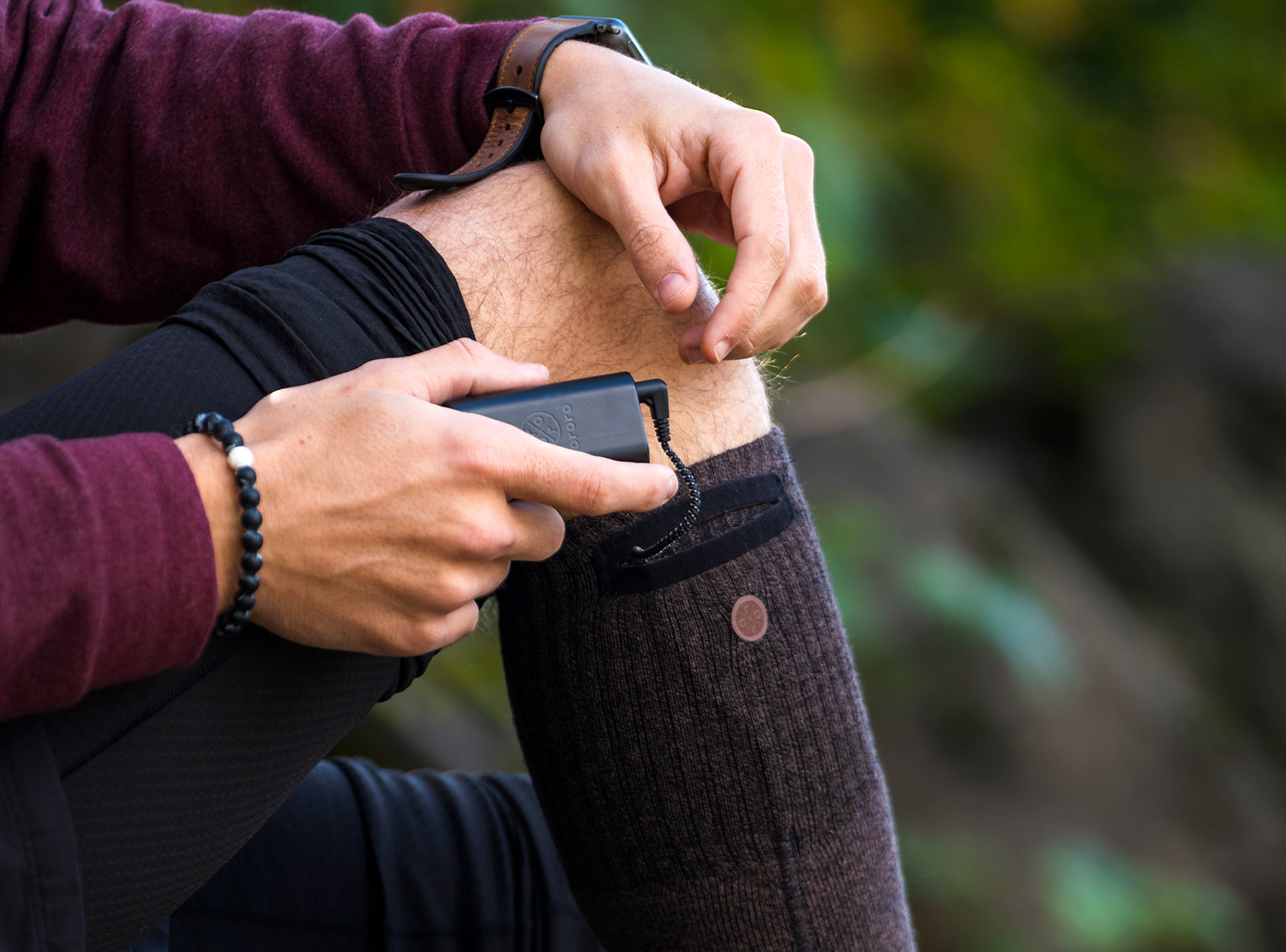 heated socks for dads