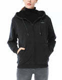 (Open-box) Unisex Heated Hoodie - Black