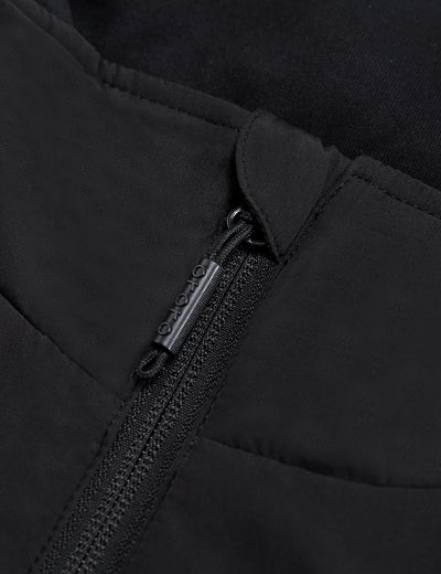 Unisex Heated Fleece Hoodie - Flecking Gray - ORORO