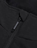 Unisex Heated Fleece Hoodie - Flecking Gray