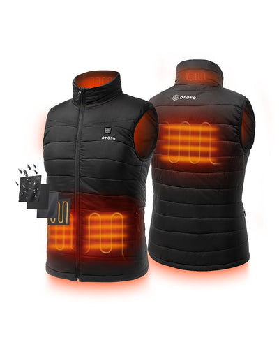 (Open-box) Men Heated Padded Vest- Apparel Only