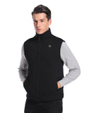 (Open-box) Men's Heated Fleece Vest