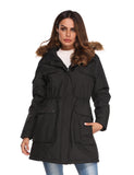 (Open-box) Women's Heated Parka - Mid-length
