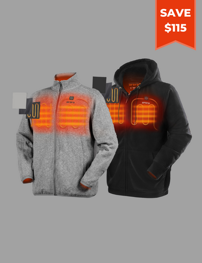 Heated Fleece Hoodie/Jacket - Family Bundle