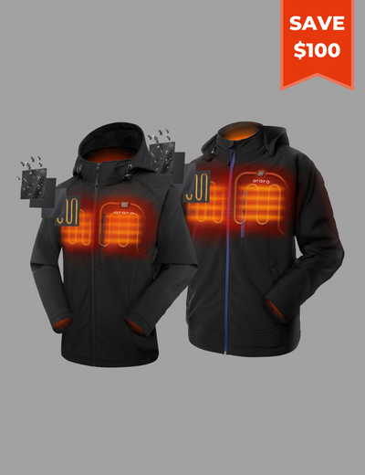 Men/Women Classic Heated Jacket - Family Bundle