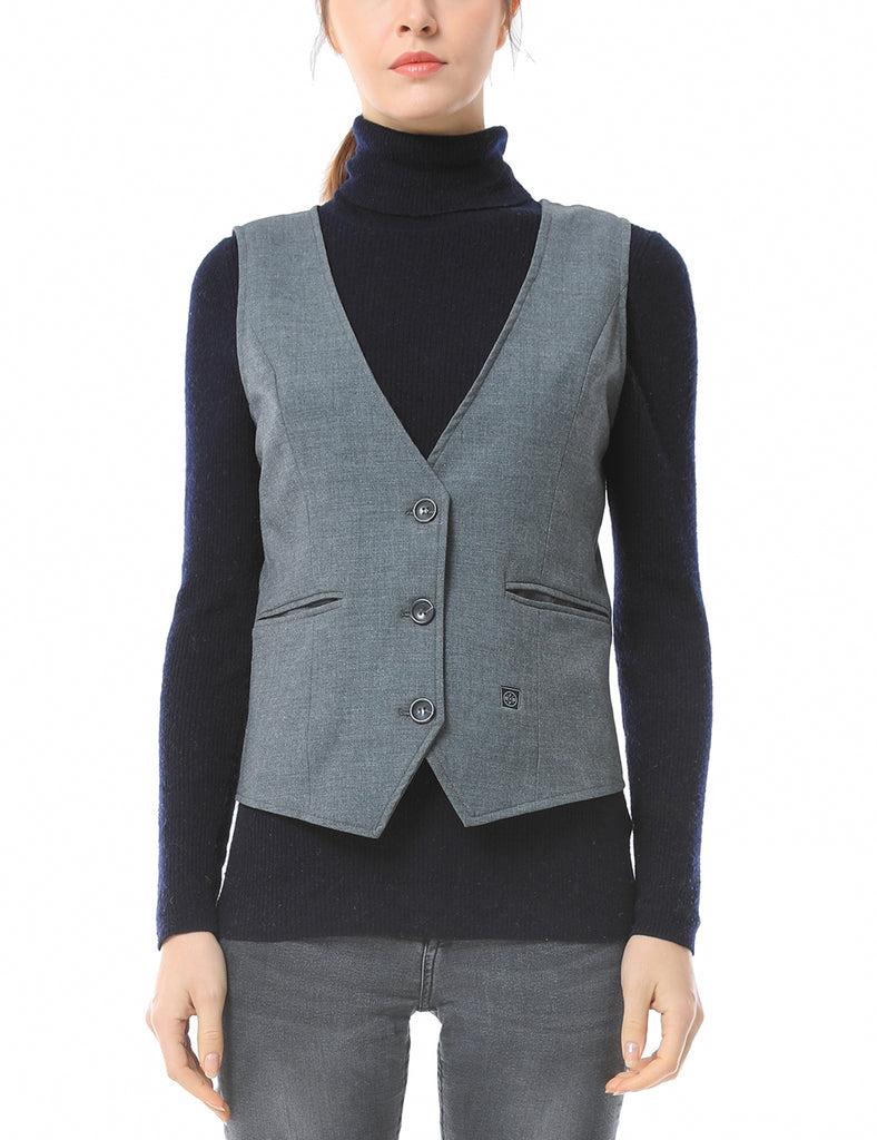 Women Heated Suit Vest-ORORO