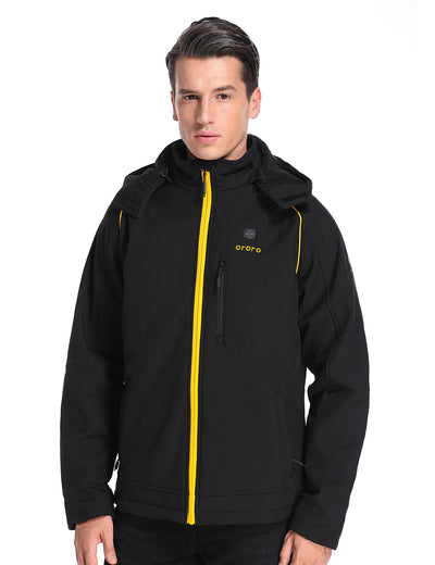 (Open-box) Sports Heated Jacket - Black & Gold